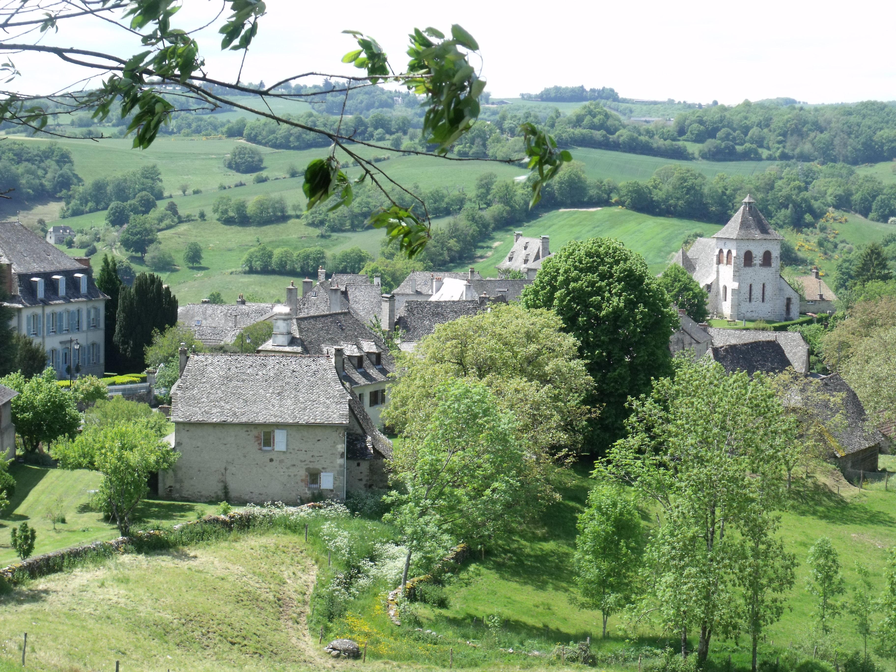 Junhac bourg