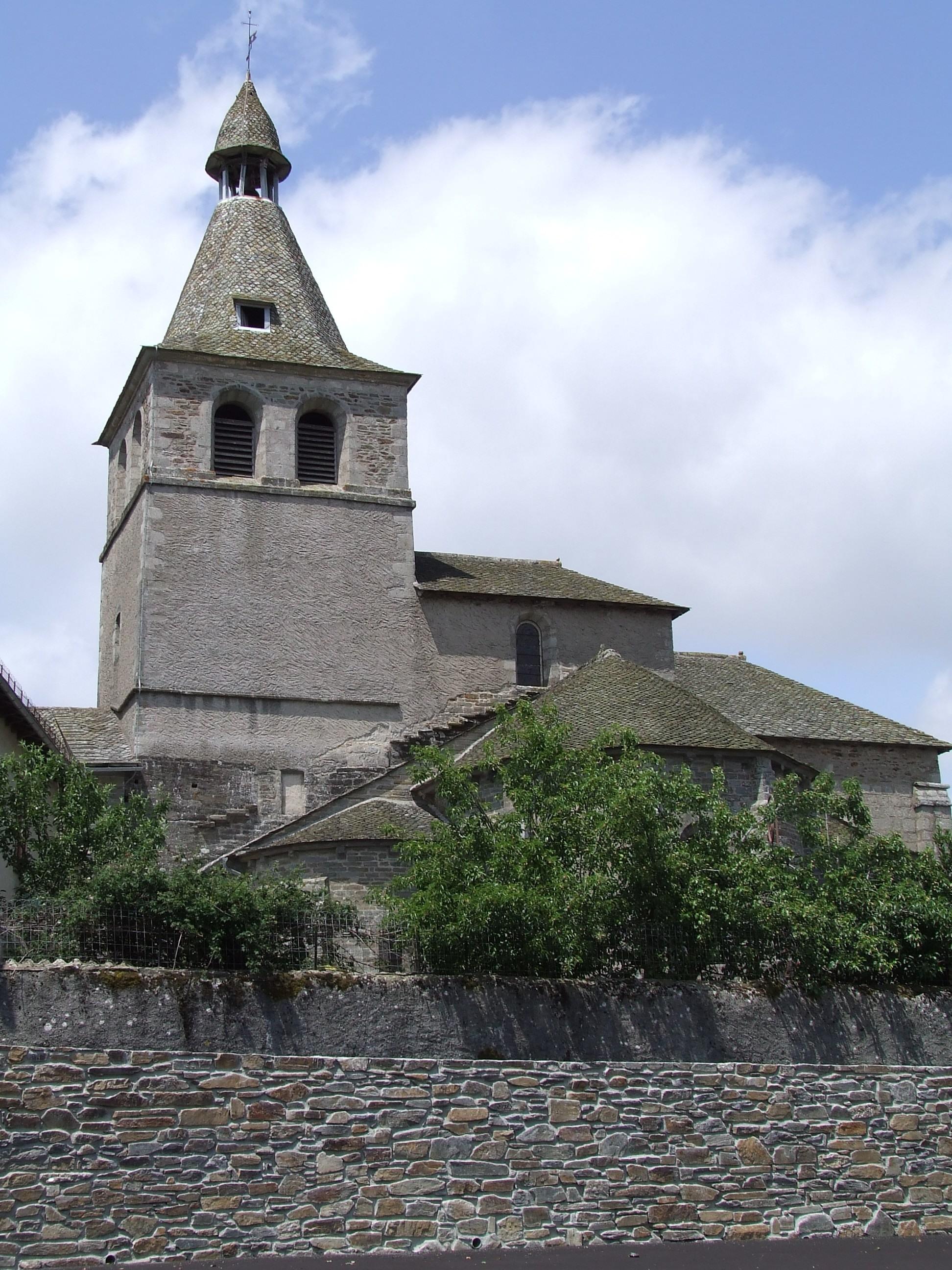 Montsalvy - Abbatiale